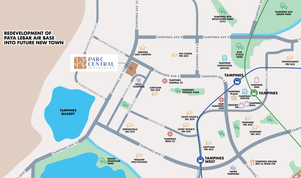 Parc-Central-Residences-map